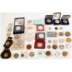 Large Group Modern Israeli Coins and Medals