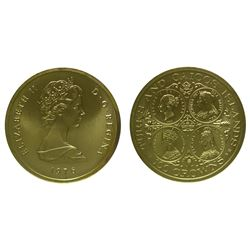 Turks and Caicos Islands 100 Crown Gold Coin