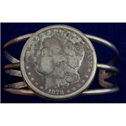 1878 Morgan Dollar Bracelet