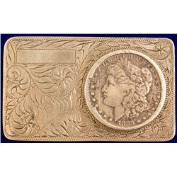 1883 New Orleans Morgan Dollar Belt Buckle