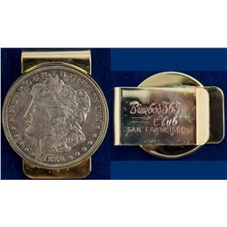 Bimbo's 365 Club 1886 Morgan Dollar Money Clip