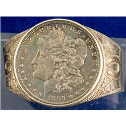 1897 Morgan Dollar Bracelet