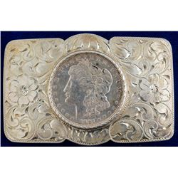 1921 Morgan Dollar Belt Buckle
