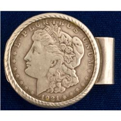 1921 San Francisco Morgan Dollar Money Clip