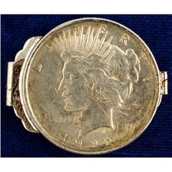 1922 Peace Dollar Money Clip
