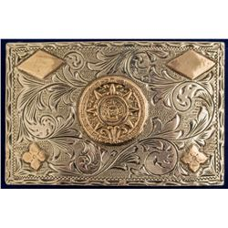 Mexican Sterling Belt Buckle