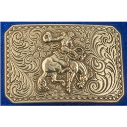 Rodeo Bucking Bronco Cowboy Belt Buckle