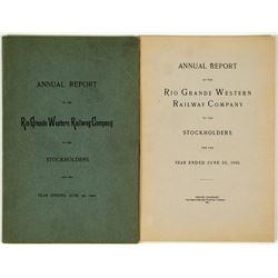 Two Rio Grande Annual Reports