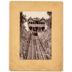 E.D. Keller Cogg Railroad Photo