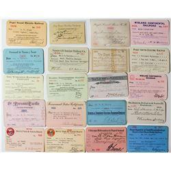 U.S. Railroad Pass Balance Lot (20 Passes)