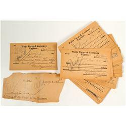 Wells Fargo & Co. Receipts