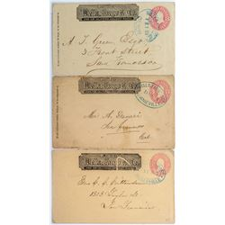 Three California Wells Fargo Covers