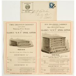 Advertising for Cabinets of Spool Thread
