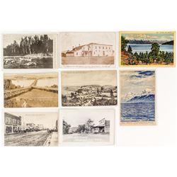 Flathead County Postal History / Postcard Collection