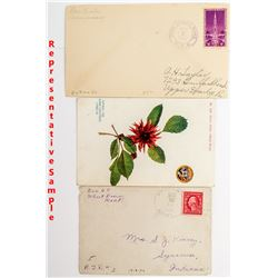 Large Montana Postal History Collection including Territorials