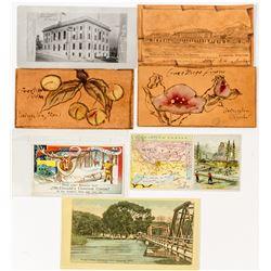 Montana Postcards and Trade Cards