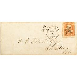 """Small (2 x 5.25"""") Envelope with nice Aurora Strike and Fancy Star Killer"""