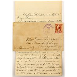 Belleville, Esmeralda, Nevada 1885 Cover with Letter