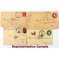 Remainder of the Esmeralda Postal History Collection