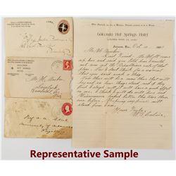 Humboldt & Pershing County, Nevada Postal Collection
