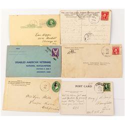 Lincoln County, Nevada Postal History Lot