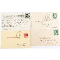 Nye County, Nevada Postal History Lot