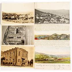 Six Pioche and Caliente Postcards