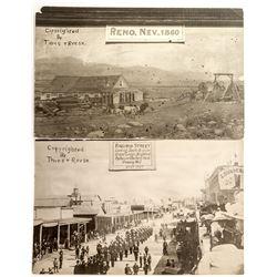 Nice Reno Reproduction Postcards