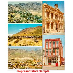 Complete set of Old Lamp Post Postcards of Virginia City
