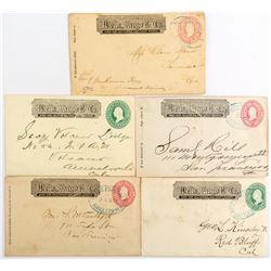 Five Different Nevada Wells Fargo Covers