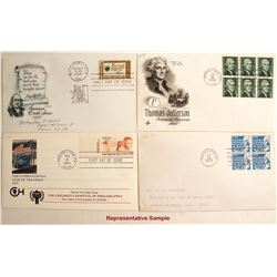 First Day Covers from the 1960s & 1970s