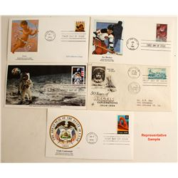 First Day Covers from the 1990s