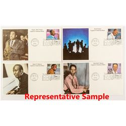 Ten Albums of First Day Covers