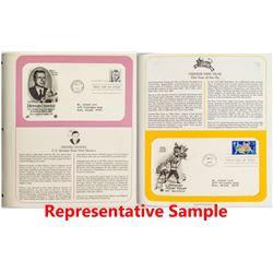 Postal Commemorative Society Albums 3