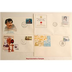Canadian First Day Covers 1