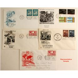United Nations First Day Covers 1