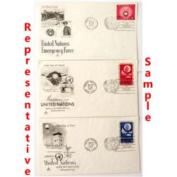 United Nations First Day Covers 3