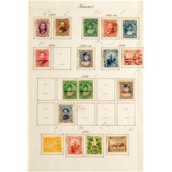 Hawaiian Stamps, 1875-1894
