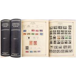 The International Postage Stamp Albums I & II