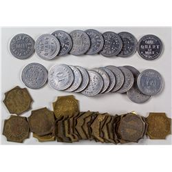 3 Different Groups of California Tokens