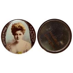 """F.S. Pattridge"" Good For Mirror (Oneonta, New York)"