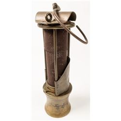 Personalized, Engraved American Safety Lamp and Mine Supply Co. Safety Lamp