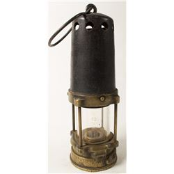 Bonneted Clanny Style Safety Lamp