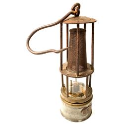 Unmarked Clanny Style Safety Lamp
