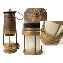 John Davis & Son, Bonneted Clanny Style Safety Lamp
