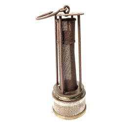 Very Early Davy Style Safety Lamp