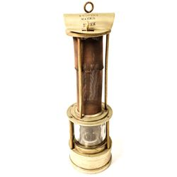 H.T. Owens Safety Lamp
