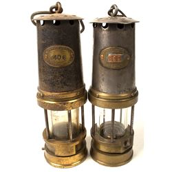 Patterson Marsaut Style Safety Lamps