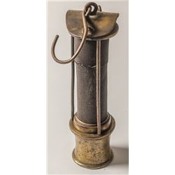 A. Thomas, Davy Style Safety Lamp