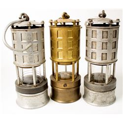 3 Different Wolf Safety Lamps